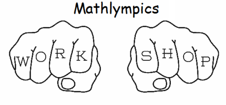Mathlympics Training Workshop I Starts 7 & 14 June 2016